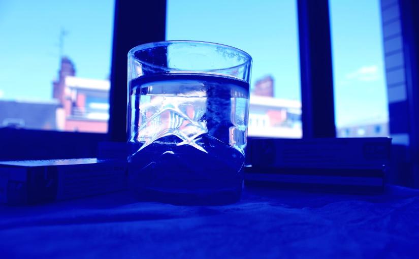 Le verre d'eau dans lequel on se noit…